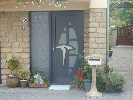 Portes extérieures en PVC